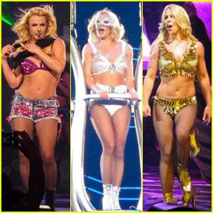 Britney Spears: 'Femme Fatale' in Sacramento!