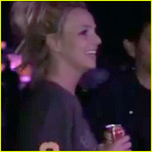Britney Spears Sees 'Femme Fatale' Tour Stage - VIDEO