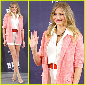 Cameron Diaz: 'Bad Teacher' Madrid Photo Call