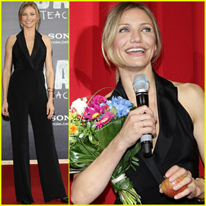 Cameron Diaz: 'Bad Teacher' Berlin Premiere!