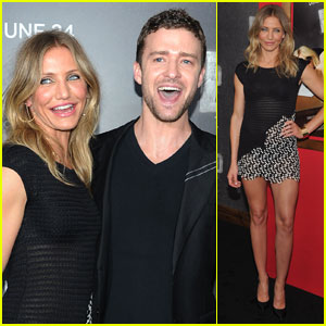 Cameron Diaz & Justin Timberlake: 'Bad Teacher' NYC Premiere!