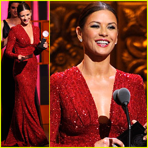 Catherine Zeta-Jones - Tony Awards 2011 Presenter