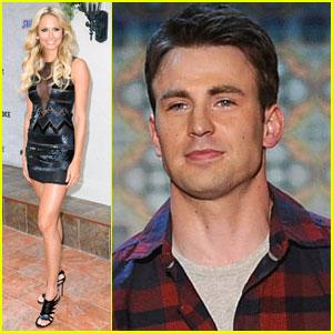 Chris Evans & Stacy Keibler - 2011 Guys Choice Awards