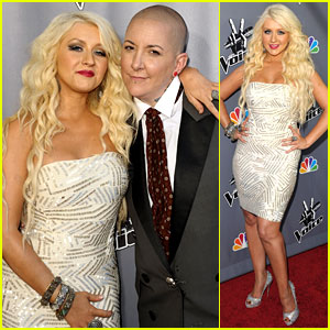 Christina Aguilera: 'The Voice' Finale with Beverly McClellen!