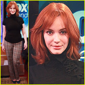 Christina Hendricks: Latisse's Latest Spokeswoman!