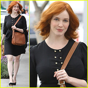 Christina Hendricks: 'So Darn Grateful Every Day' for Mad Men