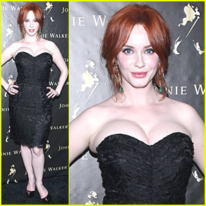 Christina Hendricks: 'Anxious & Excited' for Mad Men