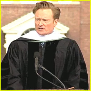 Conan O'Brien: Dartmouth's Commencement Speaker!