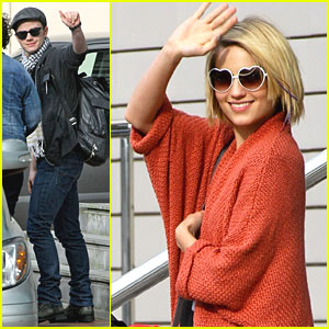 Dianna Agron: 'Glee' Goes to Manchester!
