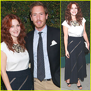 Drew Barrymore: Chanel &#038; NRDC Dinner with Will Kopelman!