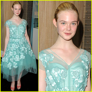 Elle Fanning: Women In Film Crystal + Lucy Awards!