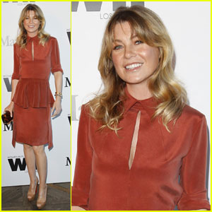 Ellen Pompeo: Vanity Fair Dinner for Katie Holmes!