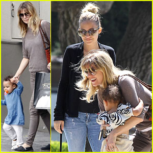 Ellen Pompeo & Stella: Playdate with Nicole Richie's Kids!