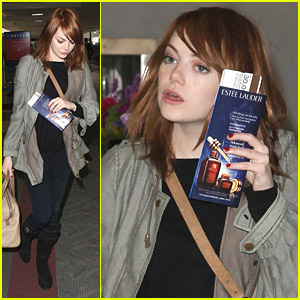 Emma Stone Leaves Los Angeles