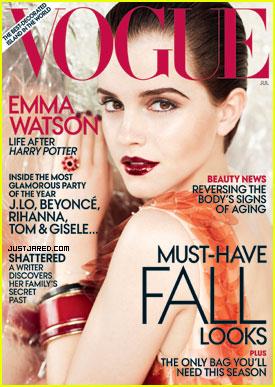 Emma Watson Covers 'Vogue' July 2011