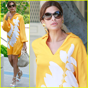 Eva Mendes: Thierry Mugler's Newest Icon!