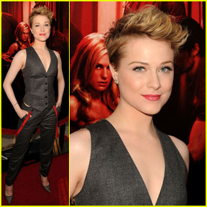 Evan Rachel Wood Debuts Pixie Cut