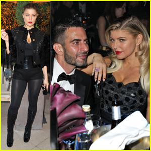 Fergie: amfAR Paris Inspiration Gala with Marc Jacobs!