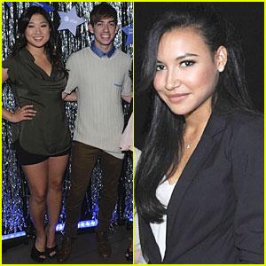 Naya Rivera & Jenna Ushkowitz: 'Glee' Spring Fling with AT&T!