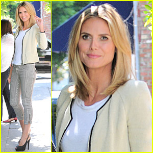 Heidi Klum Launches Lifestyle Website With AOL