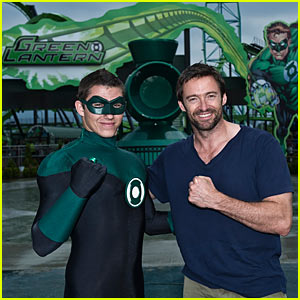 Hugh Jackman: Green Lantern Adventure at Six Flags!