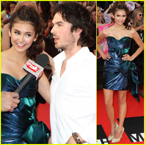 Ian Somerhalder: MuchMusic Video Awards with Nina Dobrev!