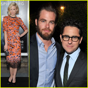 Chris Pine & Jaime King: 'Super 8' Premiere!