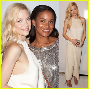 Jaime King: Elle Spa with Joy Bryant!