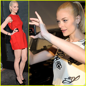 Jaime King: EVO 3D Launch in Hollywood!