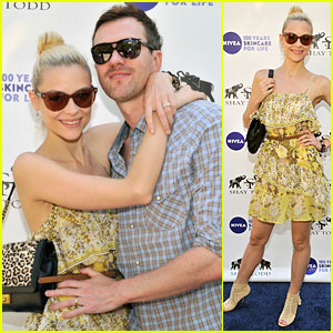 Jaime King: Nivea Poolside Party with Kyle Newman!