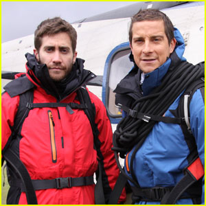 Jake Gyllenhaal: 'Man vs. Wild' with Bear Grylls!