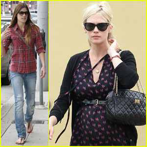 January Jones: Watch Shopping with Jennifer Carpenter!