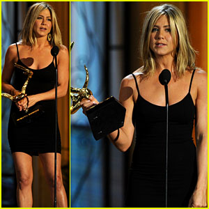Jennifer Aniston: Decade of Hotness Winner at the Guys Choice Awards!