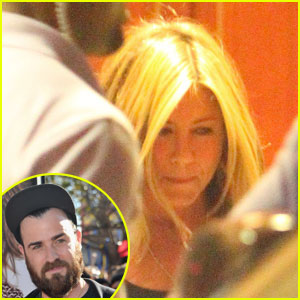 Jennifer Aniston: Sunset Tower with Justin Theroux!