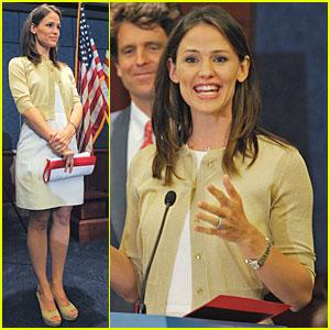 Jennifer Garner: Washington, DC for Children's Causes!