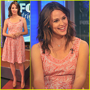 Jennifer Garner Visits 'Fox & Friends'