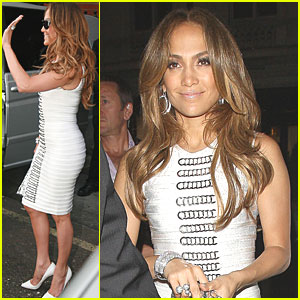 Jennifer Lopez: Heading to Paris!