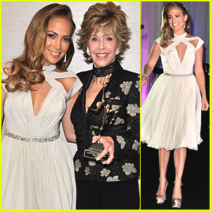 Jennifer Lopez: Icon Awards with Jane Fonda!