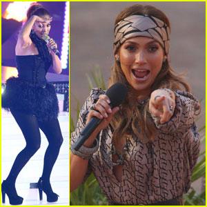 Jennifer Lopez: 'Wetten Dass' Performance!