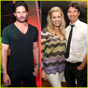 Joe Manganiello & Rebecca Romijn: Playstation Preview at E3!