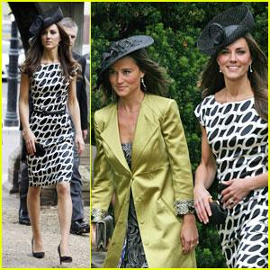Kate & Pippa Middleton: Friend's Wedding!