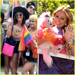 Katy Perry & Aubrey O'Day Celebrate Gay Pride