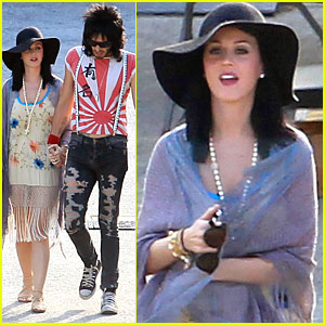Katy Perry: Rock of Ages Set Visit!
