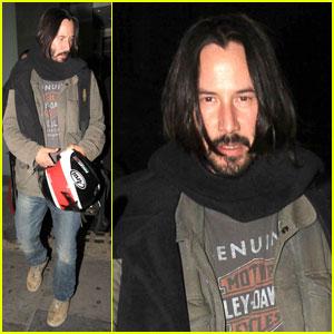 Keanu Reeves: Nobu with Mystery Woman!