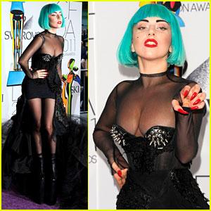 Lady Gaga - CFDA Fashion Awards 2011