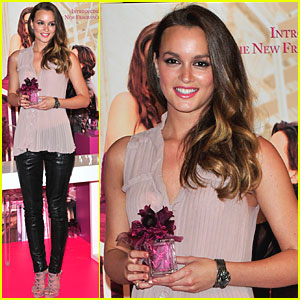 Leighton Meester: Lovestruck in London!