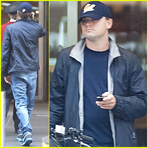 Leonardo DiCaprio: Phone Call in NYC