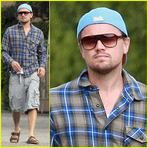Leonardo DiCaprio: Back from Europe!
