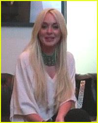 Lindsay Lohan Films Ad During House Arrest