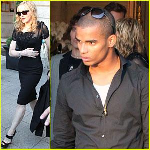 Madonna & Brahim Zaibat: Details on Paris Trip!